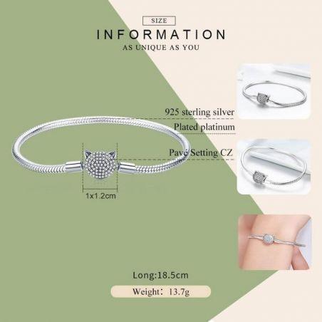 bracelet charms argent 925