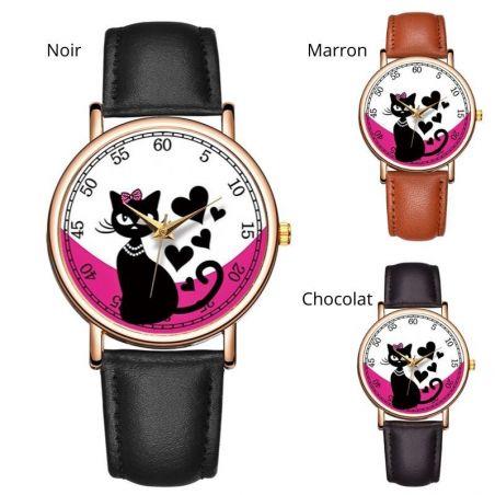 chat montre