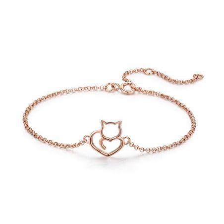 Bracelet chat or