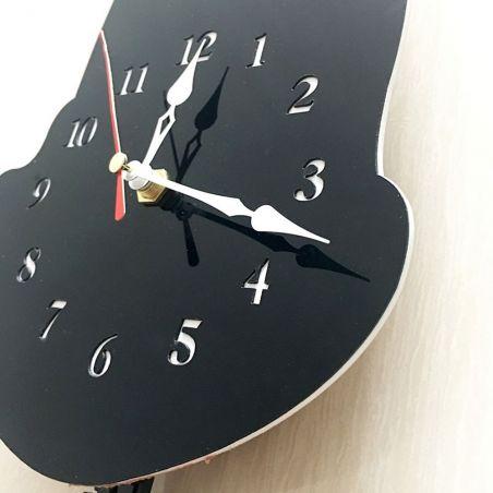 horloge murale design chat