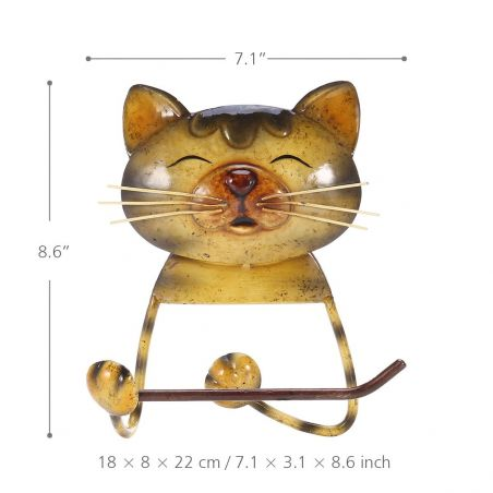 accessoire salle de bain chat