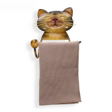 porte papier toilette chat
