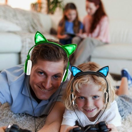 casque audio oreille de chat