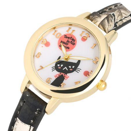 montre avec chat