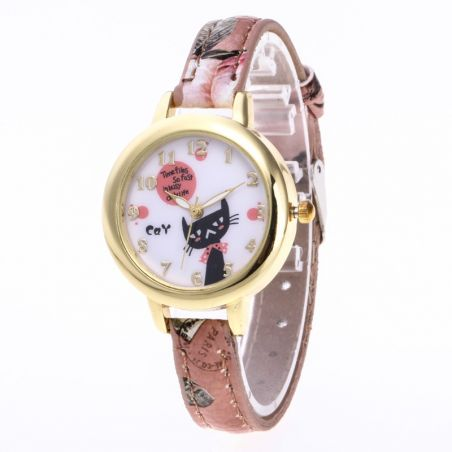 montre enfant chat