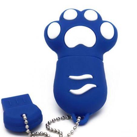 clé usb bleu