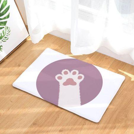 tapis pour cuisine motif chat