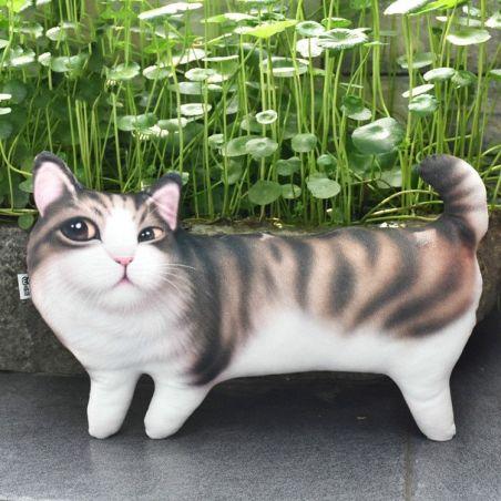 chat peluche comme un vrai